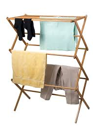 Clothes Dryer Stand Online Amazon Com Home It Bamboo Wooden Clothes Drying Rack 14 1 2 X 29
