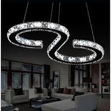 lustres pour chambre led lustre moderne en cristal led cristal lustre blanc froid 6000