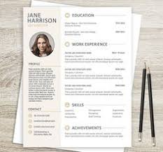 stylish resume template cover letter creative resume design