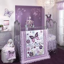 Purple Nursery Bedding Sets Bedroom Cozy Purple Theme Nursery Ideas Lambs And