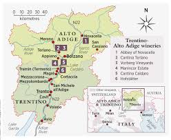 Italy Mountains Map by Alongside The Mountains In Alto Adige The Local Wines From