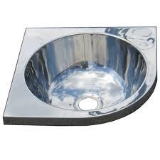 stainless corner sink stainless wall mount corner sink