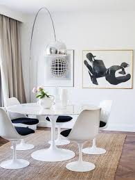Tulip Table And Chairs 10 Tulip Tables For A Chic Dining Room