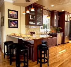 Ideas For Kitchen Islands In Small Kitchens U Shaped Kitchens With Peninsula And Nook Yahoo Image Search