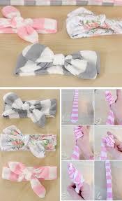diy baby headbands 40 no sew diy baby and toddler gifts sewing diy diy