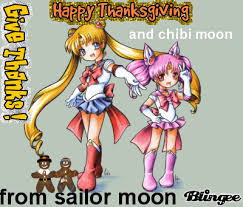 thanksgiving sailor moon chibi moon picture 34040603 blingee