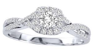 engagement rings on sale closeout sale half carat halo engagement ring for in
