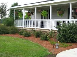 ranch style front porch landscaping ideas for brick ranch style homes perfect front porch