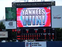 state college spikes vs staten island yankees ballpark at st