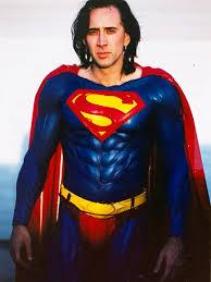 nicolas cage superman actor costume failed u002790s movie