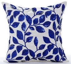 71 best blue pillows cushions images on pinterest throw pillow