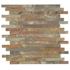 natural stone backsplash kitchen kitchen cabinets box brown