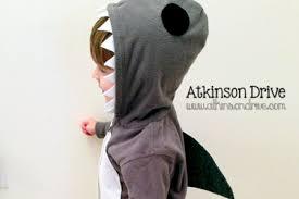 Halloween Costumes Shark Diy Homemade Halloween Costumes Kids Rebecca