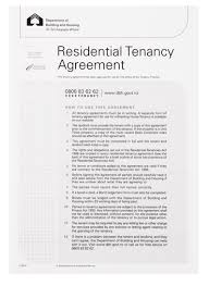 residential tenancy agreement form 98506