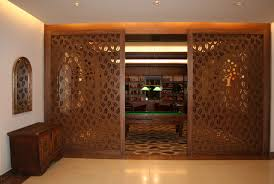 decorative panel mdf for partition walls perforated park