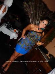 Halloween Peacock Costume Coolest Peacock Costume Peacocks Costumes Halloween Costumes