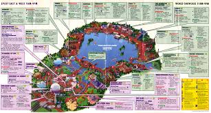 Map Of Walt Disney World by Category History Blogging Disney