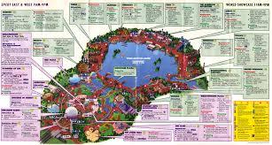 Disney World Maps Category History Blogging Disney