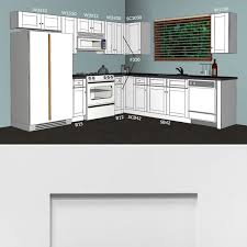 lesscare alpina white 10x10 kitchen cabinets group sale