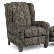 Wayside Furniture Akron Oh by Flexsteel Accents Perth Wing Chair With Nailhead Border Wayside