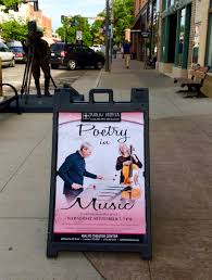 great surprise to see our late summer fall poetrymusic tour 2016 on the road to the