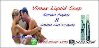 vimax liquid soap sabun pembesar penis permanen