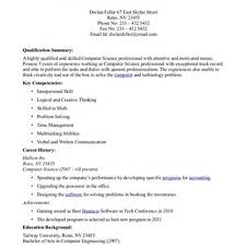 Sample Resume For Assistant Professor In Computer Science by Lecturer Resume Format For Computer Science Free Resume Example