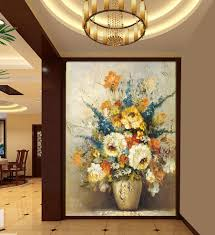 80x160cm size entrance corridor for painting mural tv wall