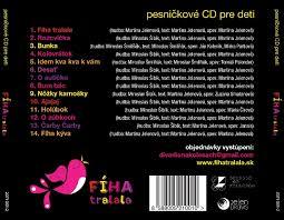fiha tralala dvd cd a dvd fíha tralala album používateľky detskahracka foto 2