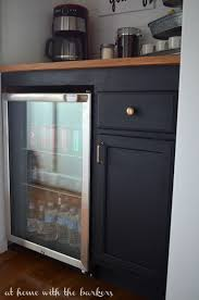 how to build a cabinet around a refrigerator how to build a beverage bar at home with the barkers