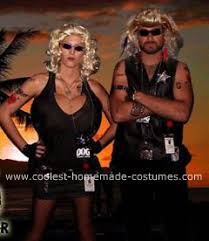 Bounty Hunter Halloween Costumes Coolest Dog Bounty Hunter Wife Beth Chapman Costumes
