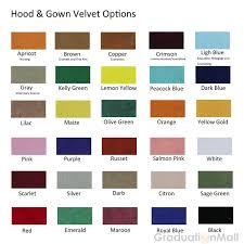 graduation tassel colors deluxe custom doctoral gown