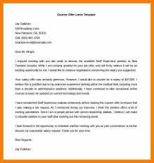 4 counter offer letter example hostess resume