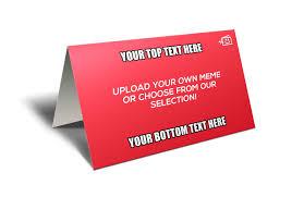 custom memecard horizontal memecards