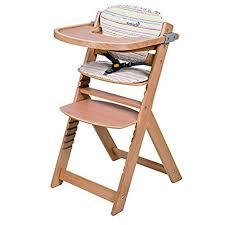 chaise bebe bois chaise haute bébé bois amazon fr
