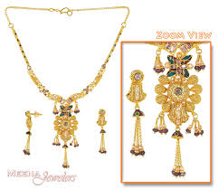 new design gold necklace photos jewellery collection the no