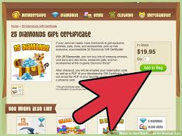 animaljam gift card how to get diamonds on animal jam 7 steps with pictures