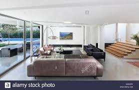 modern open plan kitchen white villa tel aviv open plan modern living room and kitchen