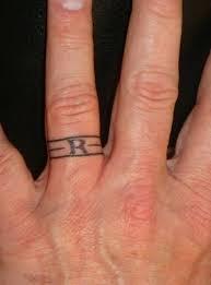 mens wedding ring tattoos best 25 wedding band ideas on