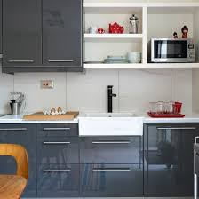 gray gloss kitchen cabinets kitchen trend colors grey gloss and white modern kitchen ideal
