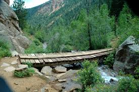 Colorado Springs Trail Map by Seven Bridges Trail