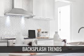 kitchen backsplash ideas 2020 cabinets kitchen backsplash trends for 2020