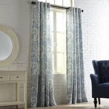 seasons paisley indigo grommet curtain pier 1 imports
