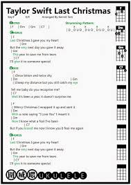 christmas christmasst taylor swift music videolast chords lyrics