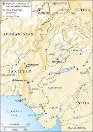 Map Of Indus River The Greatest Civilisation Ever Forgotten History Today