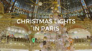 christmas lights in paris kerstsfeer in parijs youtube