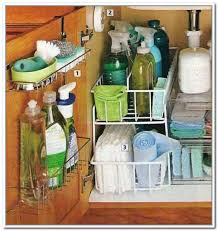 under kitchen sink storage solutions bathroom sink storage solutions home design ideas