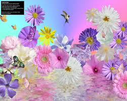 animated pictures of flowers and butterflies