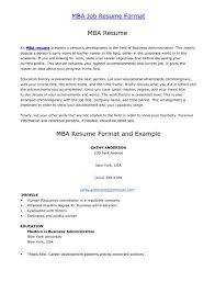 Sample Resume For Abroad Job by Resume Format For Job
