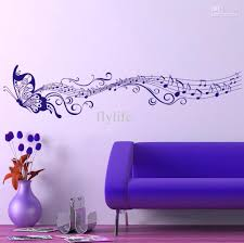 Butterfly Home Decor Accessories Wall Arts Purple Wall Designs For A Bedroom Purple Wall Decor